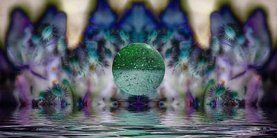 Photograph - Dream Orb by WB Johnston