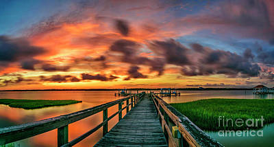 Photograph - Dream Pier by DJA Images