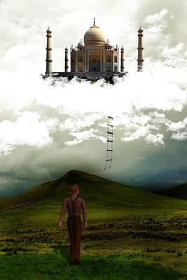 Realization Digital Art - Dream Realization by Solomon Barroa