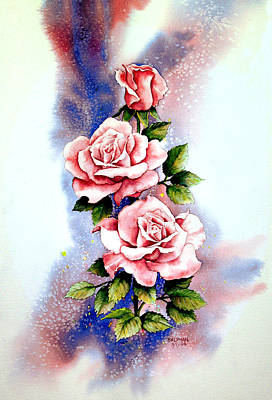 Dream Roses Art Print by Brooke Lyman