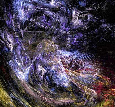 Abstract Digital Art - Dream Scene by David Lane