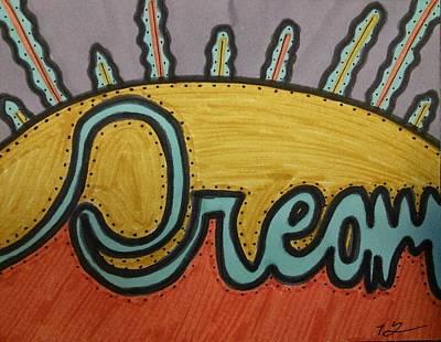 Dream Art Print by SOS Art Gallery