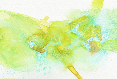 Dream - #ss16dw053 Art Print by Satomi Sugimoto