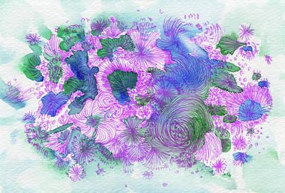 Dream - #ss16dw054 Art Print by Satomi Sugimoto