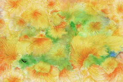 Dream - #ss16dw057 Art Print by Satomi Sugimoto