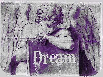 Pop Art Drawings - Dream by Tony Rubino