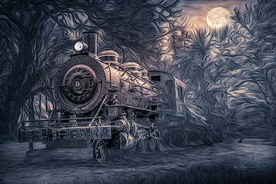 Photograph - Dream Train by Bill Posner