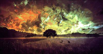 Dream Tree Art Print by Jay Salton
