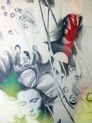 Drawing - Dream by Valerie Reeves