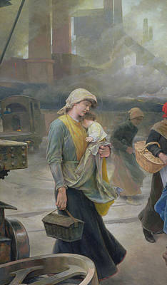 Worker Painting - Dream by Vicente Cutanda y Toraya