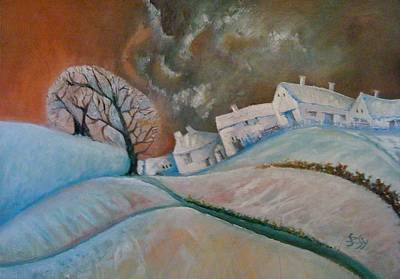 Painting - Dream Village II. by Gyorgy Szilagyi