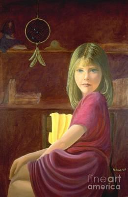 Painting - Dream Weaver, Dream Maker by Mary Erbert