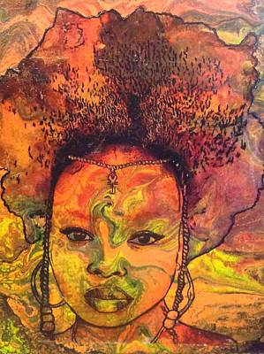 Painting - Dream Weaver  by Karen Buford