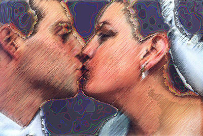 Digital Art - Dream Wedding by JoAnne Castelli-Castor