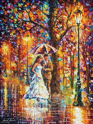Painting -  Dream Wedding by Leonid Afremov