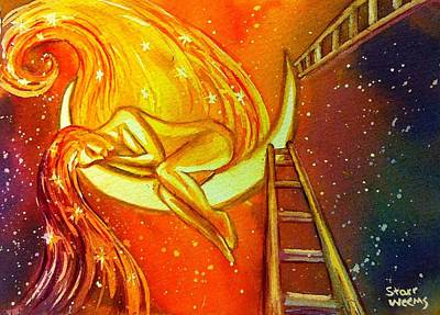 Painting - Dream Worker by Starr Weems
