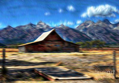 Teton Digital Art - Dream World by Robert Pearson