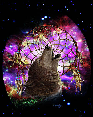 Digital Art - Dreamcatcher by Kathleen Kelly Thompson