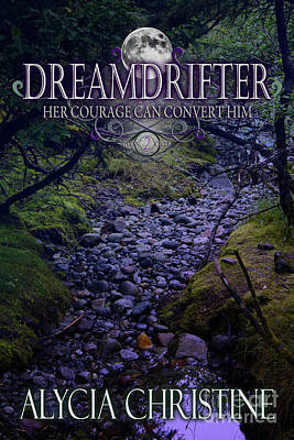 Digital Art - Dreamdrifter Book Cover by Alycia Christine
