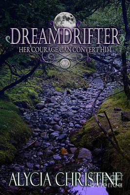 Digital Art - Dreamdrifter Book Cover by Alycia Christine