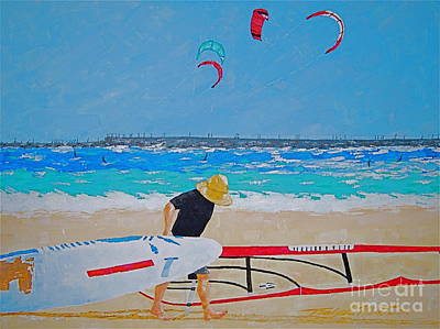Painting - Dreamer Disease V Ponce Inlet  by Art Mantia