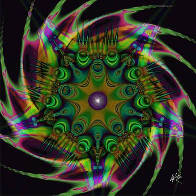 Digital Art - Dreamer by Kiki Art