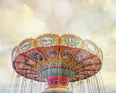 Dreamer - Nostalgic Summer Carnival Art Print