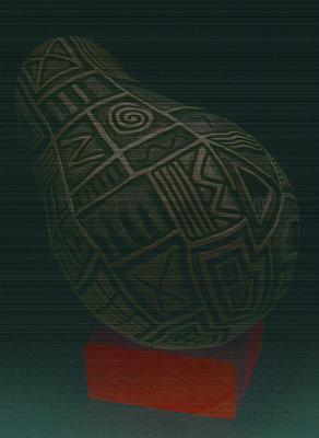 Ceramic Mixed Media - Dreamer Number Six by Gayla Lemke