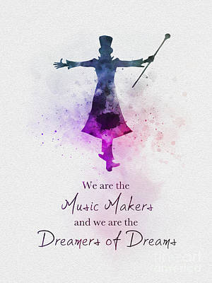 Mixed Media - Dreamers Of Dreams by Rebecca Jenkins
