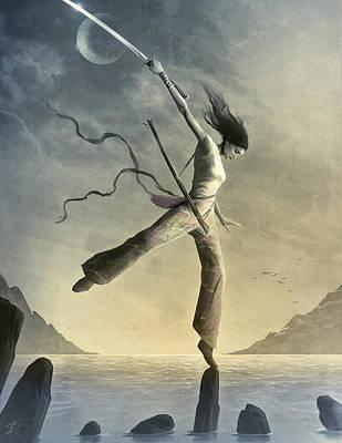 Dreamfall Art Print by Jason Engle
