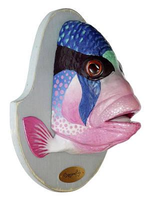 Dreamfish Trophy Art Print by Artem Efimov