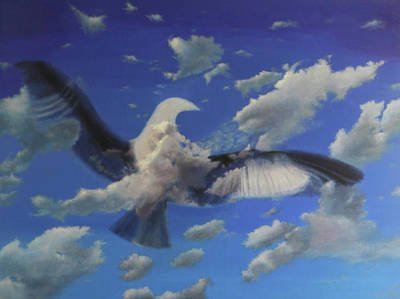 Painting - Dreamflight by George Tuffy