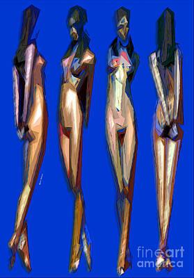 Digital Art - Dreamgirls by Rafael Salazar