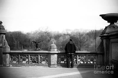 Photograph - Dreaming At Central Park by John Rizzuto