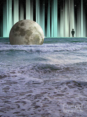 Digital Art - Dreaming At High Tide by Phil Perkins