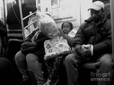 Photograph - Dreaming Big Dreams - Subways Of New York by Miriam Danar