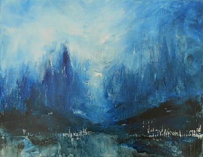 Dreaming Dreams - Blue Original by Jane See