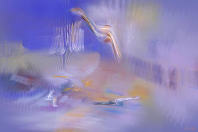 Dreaming Art Print by Emma Alvarez