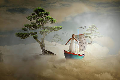 Digital Art - Dreaming High by Nathan Wright