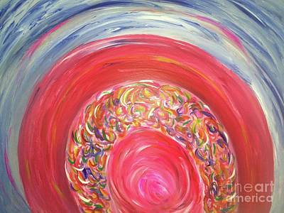 Painting - Dreaming In Color by Sarahleah Hankes