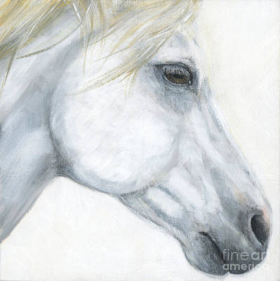 Sacred Stallion Original by Brandy Woods
