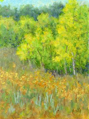 Painting - Dreaming Of Autumn by David King