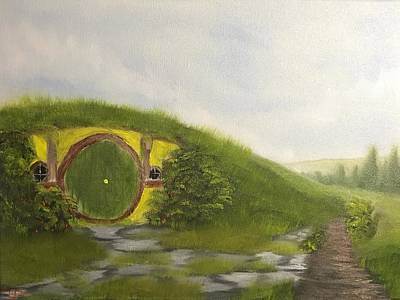 Bilbo Painting - Dreaming Of Bag End by Ethan Danner