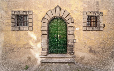 Photograph - Dreaming Of Cortona by David Letts