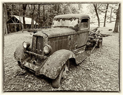 Dreaming Of Days Past - Vintage Dodge Truck Art Print by Stephen Stookey