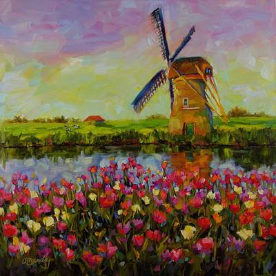 Netherlands Painting - Dreaming Of Holland by Chris Brandley