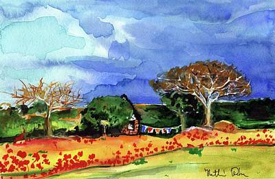 Painting - Dreaming Of Malawi by Dora Hathazi Mendes
