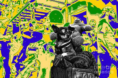 Dreaming Of Mardi Gras Art Print by John Rizzuto