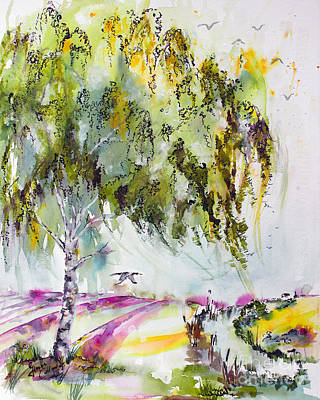 Painting - Dreaming Of Provence by Ginette Callaway