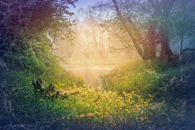 Photograph - Dreaming Of Romance At The River by Debra and Dave Vanderlaan